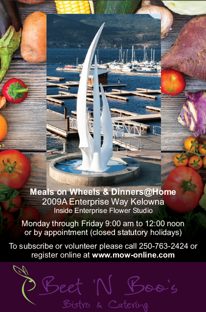 Meals on Wheels Kelowna | Brochure